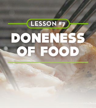 Doneness of Food