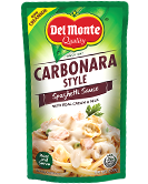 Del Monte Creamy and Cheesy Spaghetti Sauce