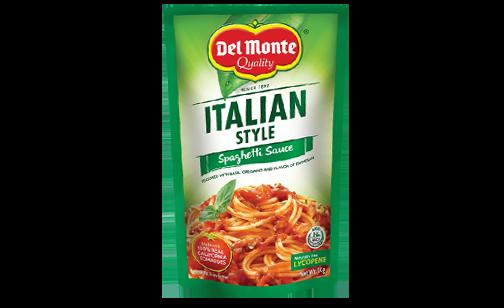 Del Monte Italian Style Spaghetti Sauce