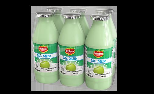 Del Monte Mr. Milk Green Apple Yoghurt Flavored Milk Drink