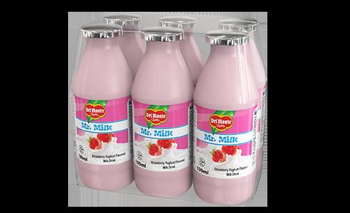 Del Monte Mr. Milk Strawberry Yoghurt Flavored Milk Drink
