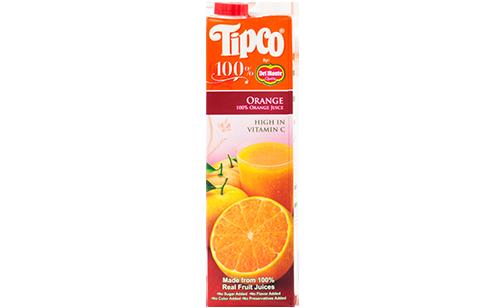 Tipco 100% Orange Juice