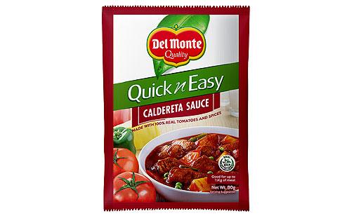 Del Monte Quick 'n Easy Caldereta Sauce