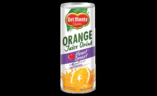 Del Monte Orange Juice Drink Heart Smart