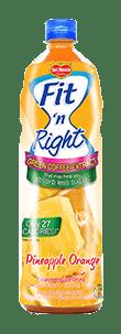 Del Monte Fit 'n Right Pineapple Orange Juice Drink
