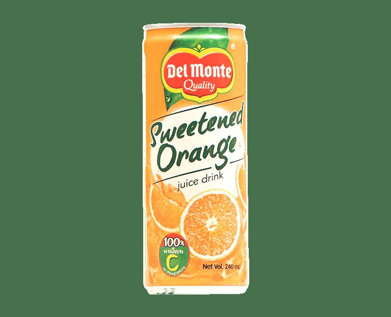 Del Monte Sweetened Orange Juice Drink
