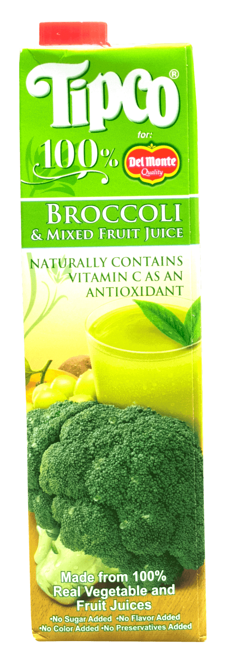 Tipco 100% Broccoli & Mixed Fruit Juice