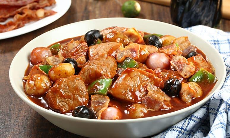 Bacon Pork Mechado Recipe