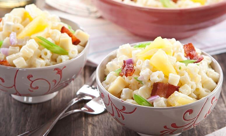 Bacon and Cheese Macaroni Salad Recipe