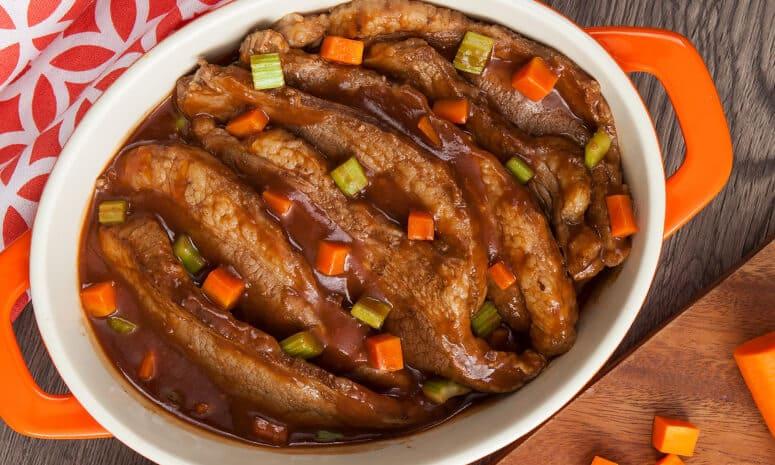 Beef Belly Pot Roast Recipe