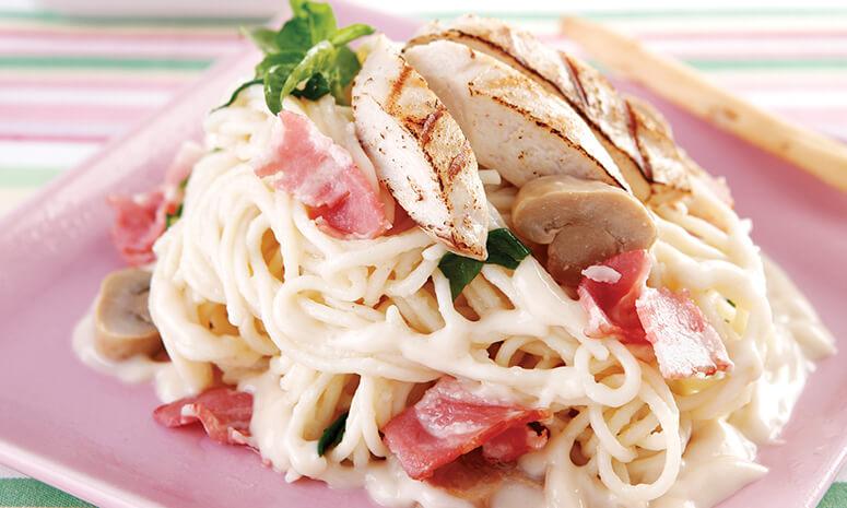 Chicken & Veggie Spaghetti Recipe