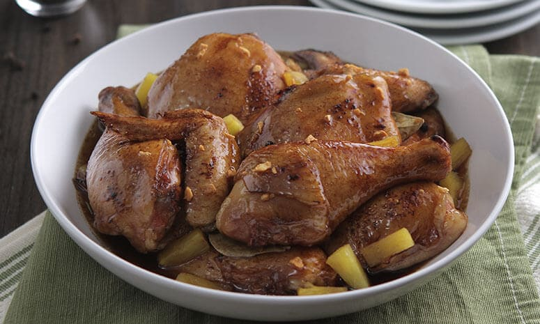 Chicken Adobo with Pineapple Recipe
