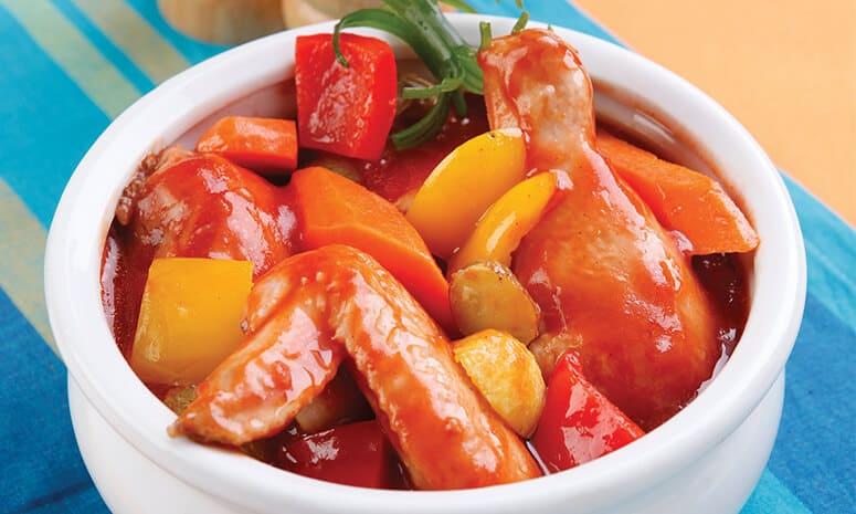 Chicken Sarciado Recipe