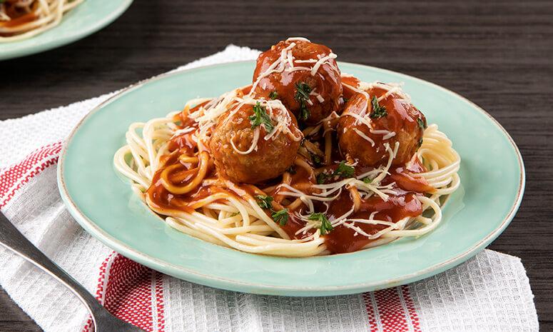 Classic Spaghetti with Meatballs Recipe