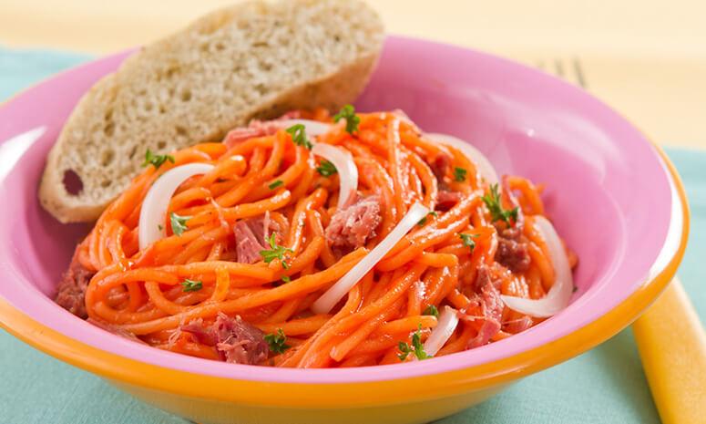 Corned Beef Spaghetti Recipe