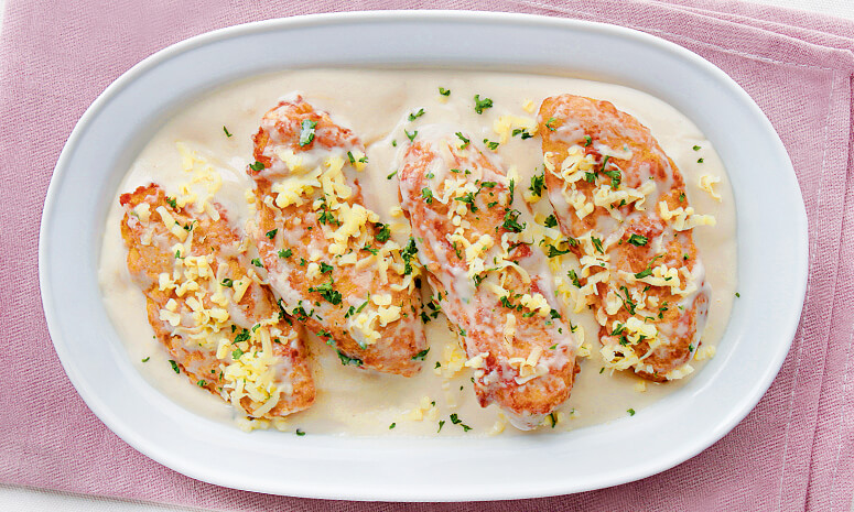 Creamy Chicken Parmigiana Recipe