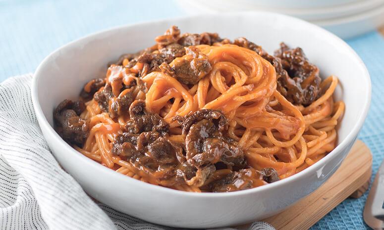 Creamy Tapa Spaghetti Recipe