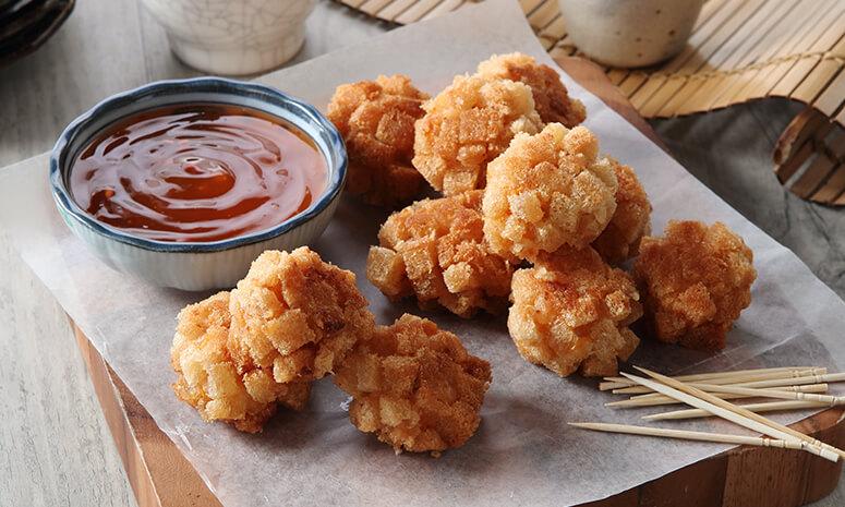 Fried Shrimp Balls Recipe