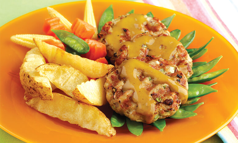 Curried Pork Burger Recipe