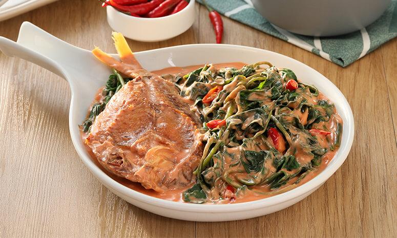 Daing Con Kangkong Recipe