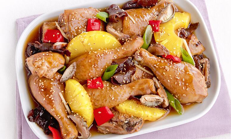 Easy Chicken with Mushrooms Recipe