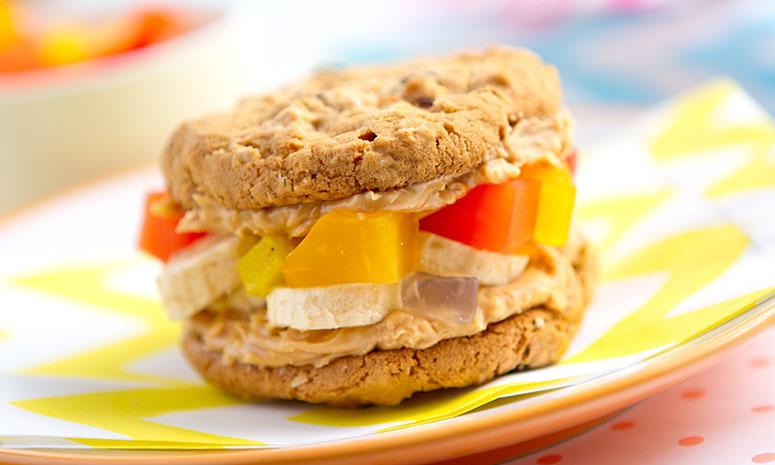 Fruity Cookie Sandwich Recipe