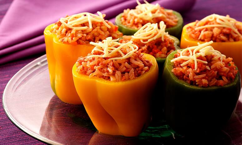 Fiesta Bell Peppers Recipe