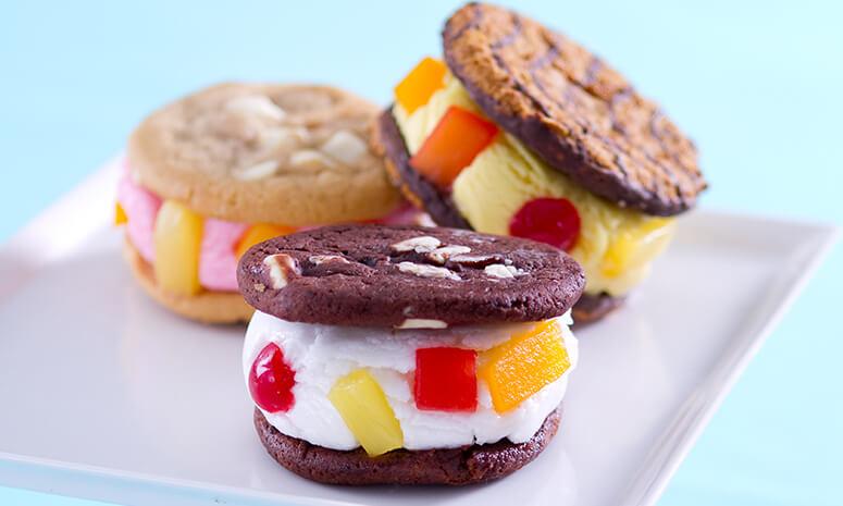 Fiesta Cookies and Ice Cream Recipe