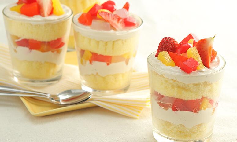 Fiesta Cream Cheese and Strawberry Trifle Recipe