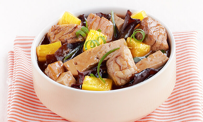 Fish Stew with Tofu and Pineapples Recipe