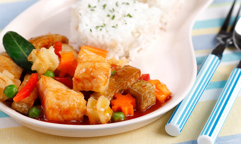 Fish Tokwa Menudo Recipe