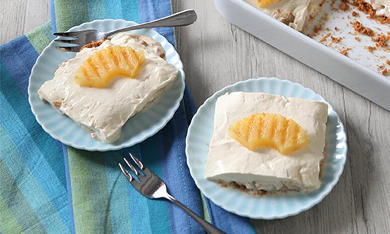 Frozen Pineapple Pie Recipe