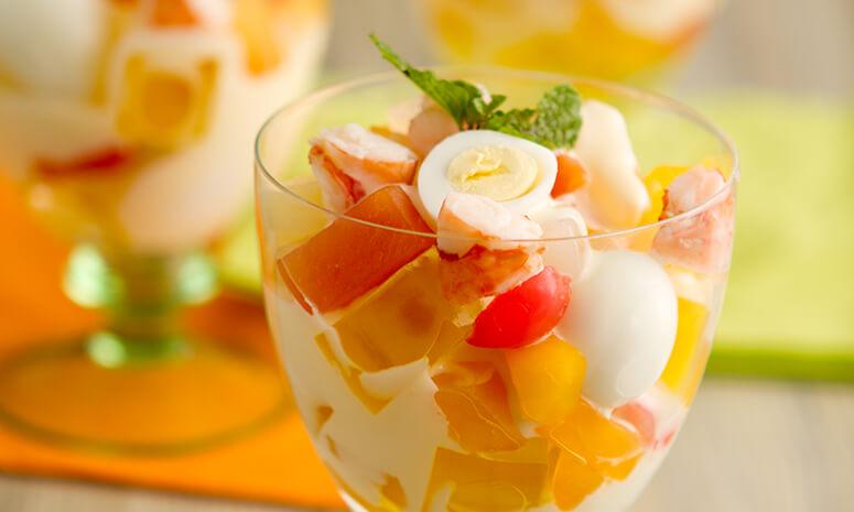 Savory Fruit Jelly Salad Recipe