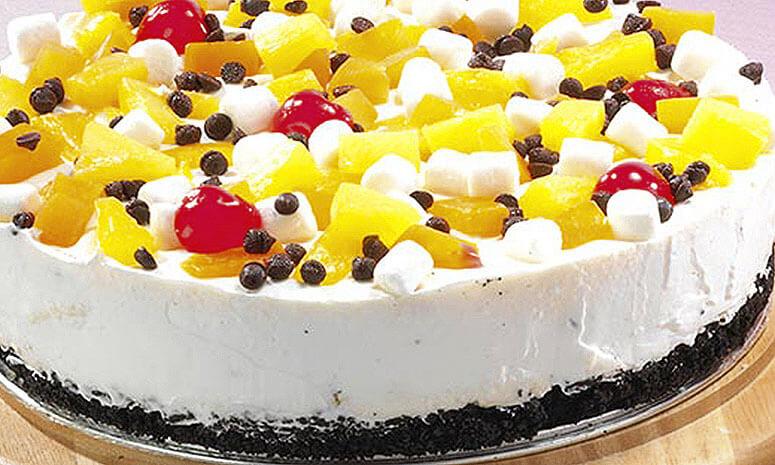 Fruit Marshmallow Pie Recipe