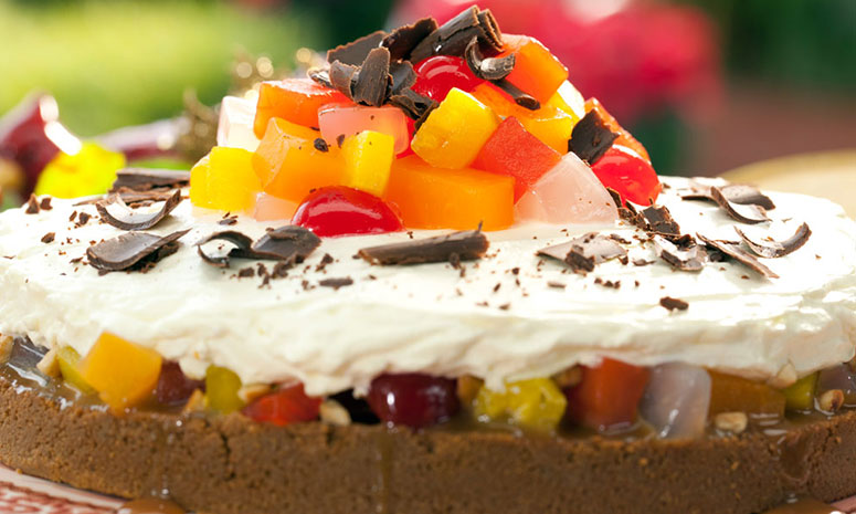 Fruity Caramel Pie Recipe