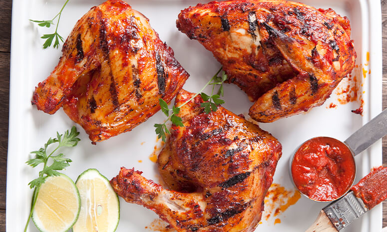 Grilled Chicken Al Diavolo Recipe