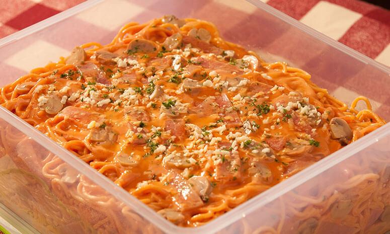 Ham and Mushroom Pasta Recipe