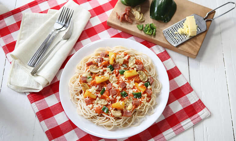 Hawaiian Spaghetti Recipe