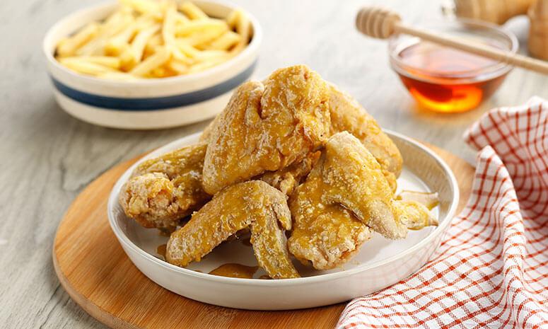 Honey Curry Wings Recipe