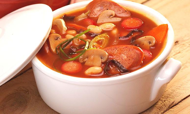 Hungarian Sausage Stew Recipe