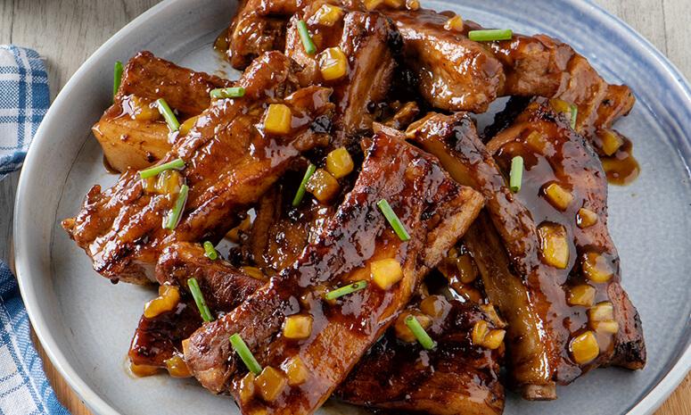 Korean BBQ Pork Ribs Recipe