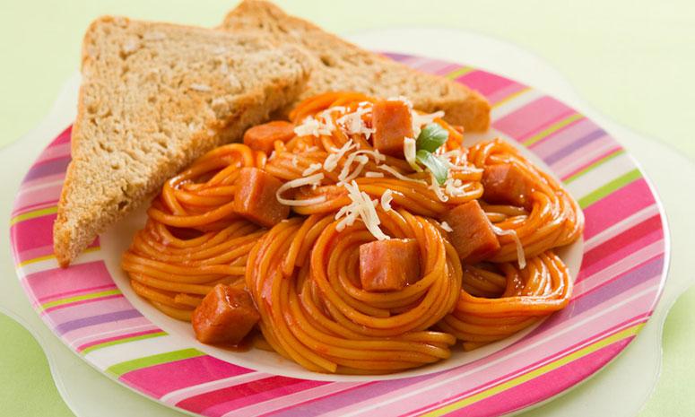 Luncheon Meat Spaghetti Recipe