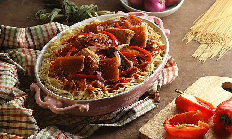 Lechon Spaghetti Recipe