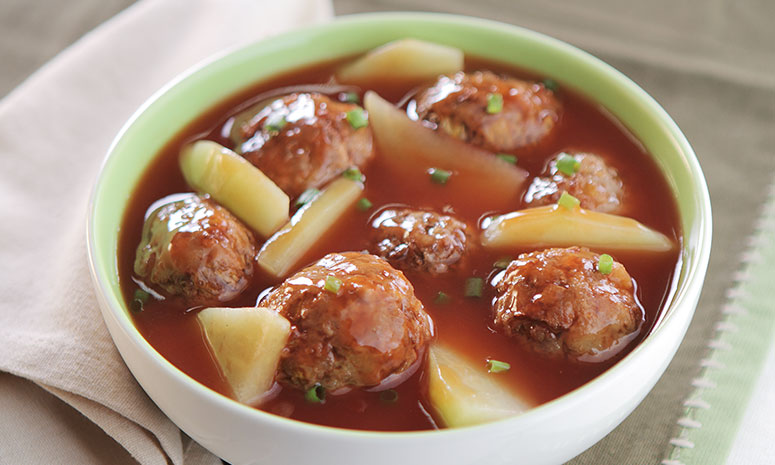 Meatballs Stew Recipe