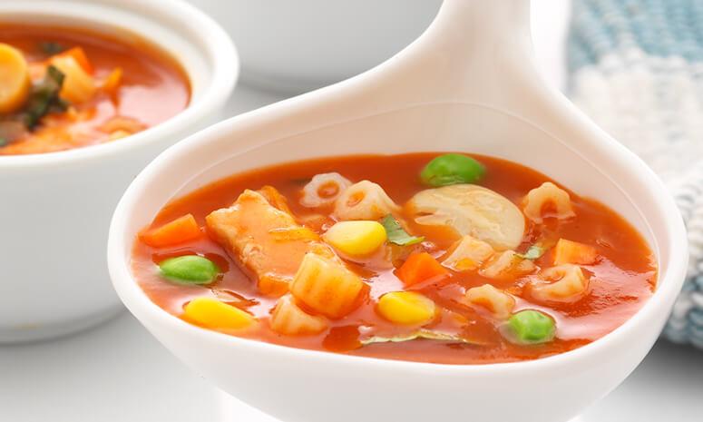 Mushroom and Pasta Soup Recipe