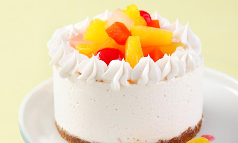 No-Bake Fruity Cheesecake Recipe