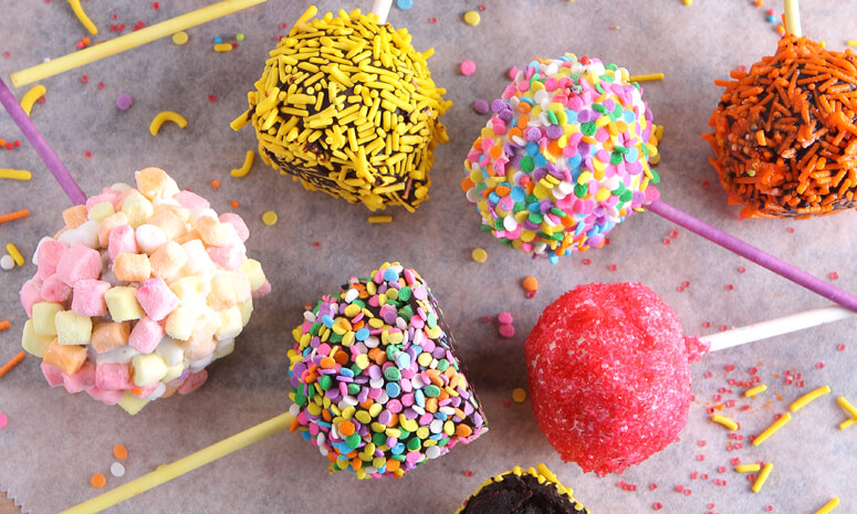 No-Bake Cake Pops Recipe