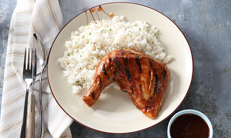 Pan-Grilled Chicken Barbecue Recipe