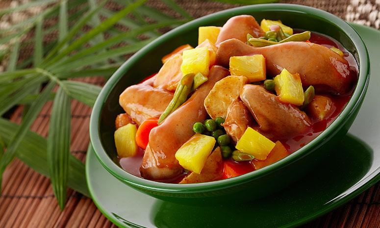 Pineapple Afritada Recipe