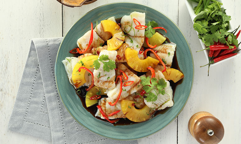 Pineapple Steamed Fish Recipe